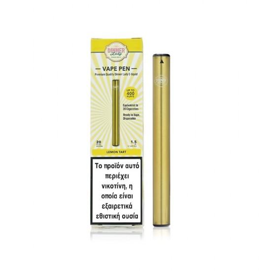 Dinner Lady Lemon Tart Disposable Vape Pen 20Mg 1.5ml