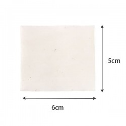 Cotton Organic Pads 5x6cm (10pcs)