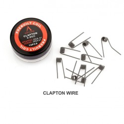 Rofvape Clapton Prebuilt Wire 0.85ohm 26GA 32GA 10pcs