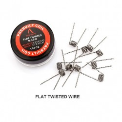 Rofvape Flat Twisted Prebuilt Wire 0.36ohm 0.2*0.8*2 10pcs