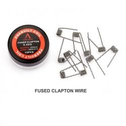Rofvape Fused Clapton Prebuilt Wire 0.45ohm 28GA*2 32GA 10pcs