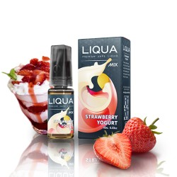 Strawberry Yoghurt 10ml By Liqua