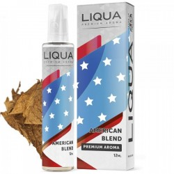 American Blend 12ml/60ml By Liqua