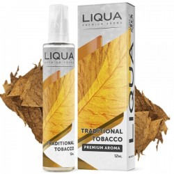 Traditional Tobacco 12ml/60ml By Liqua