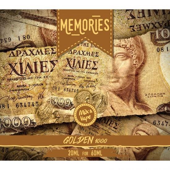 Golden 20ml/60ml Memories 1000