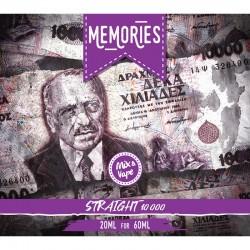 Straight 20ml/60ml Memories 10000