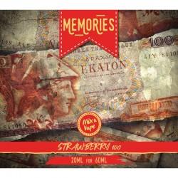 Strawberry Cream 20ml/60ml Memories 100