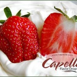 Capella Strawberries And Cream Flavor 10ml