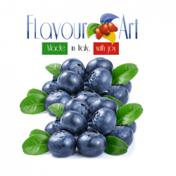 Blueberry Juicy Ripe Flavour 10ml By Flavour Art (Rebottled)