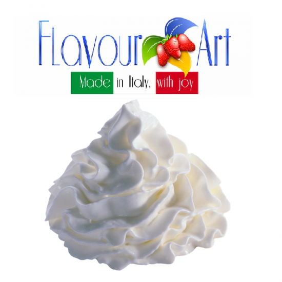 Cream Whipped Flavour 10ml By Flavour Art (Rebottled)