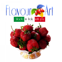 Juicy strawberry Flavour 10ml By Flavour Art (Rebottled)